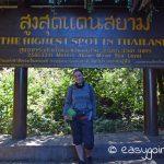 Doi Inthanon Gipfel