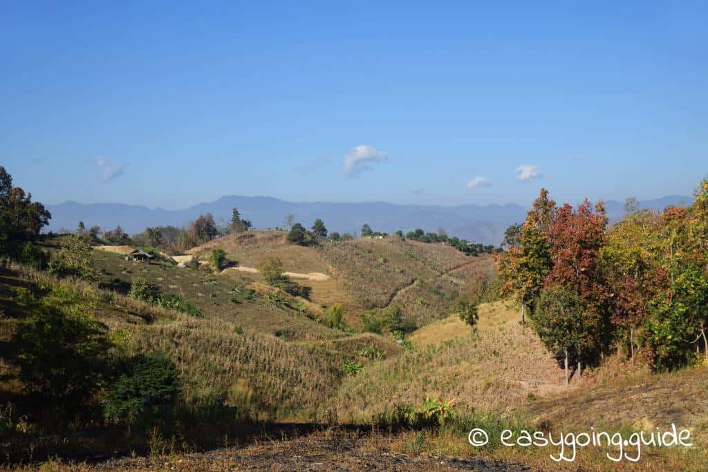 Mae Hong Son loop view