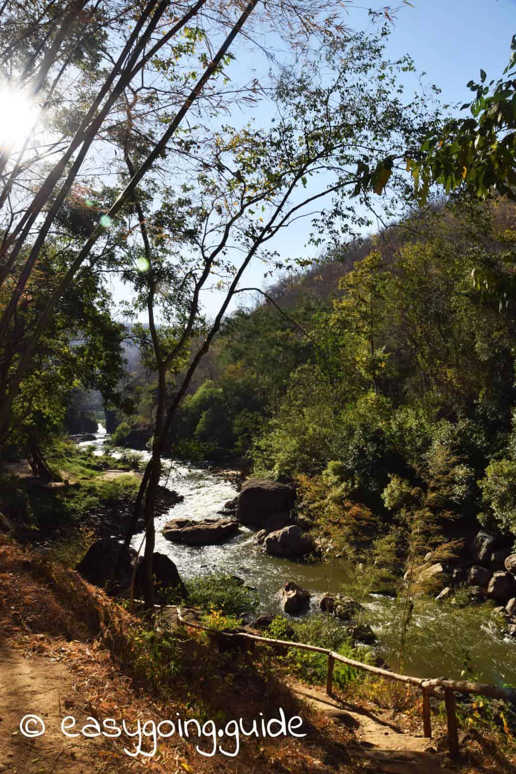 Ob Luang Canyon Fluss