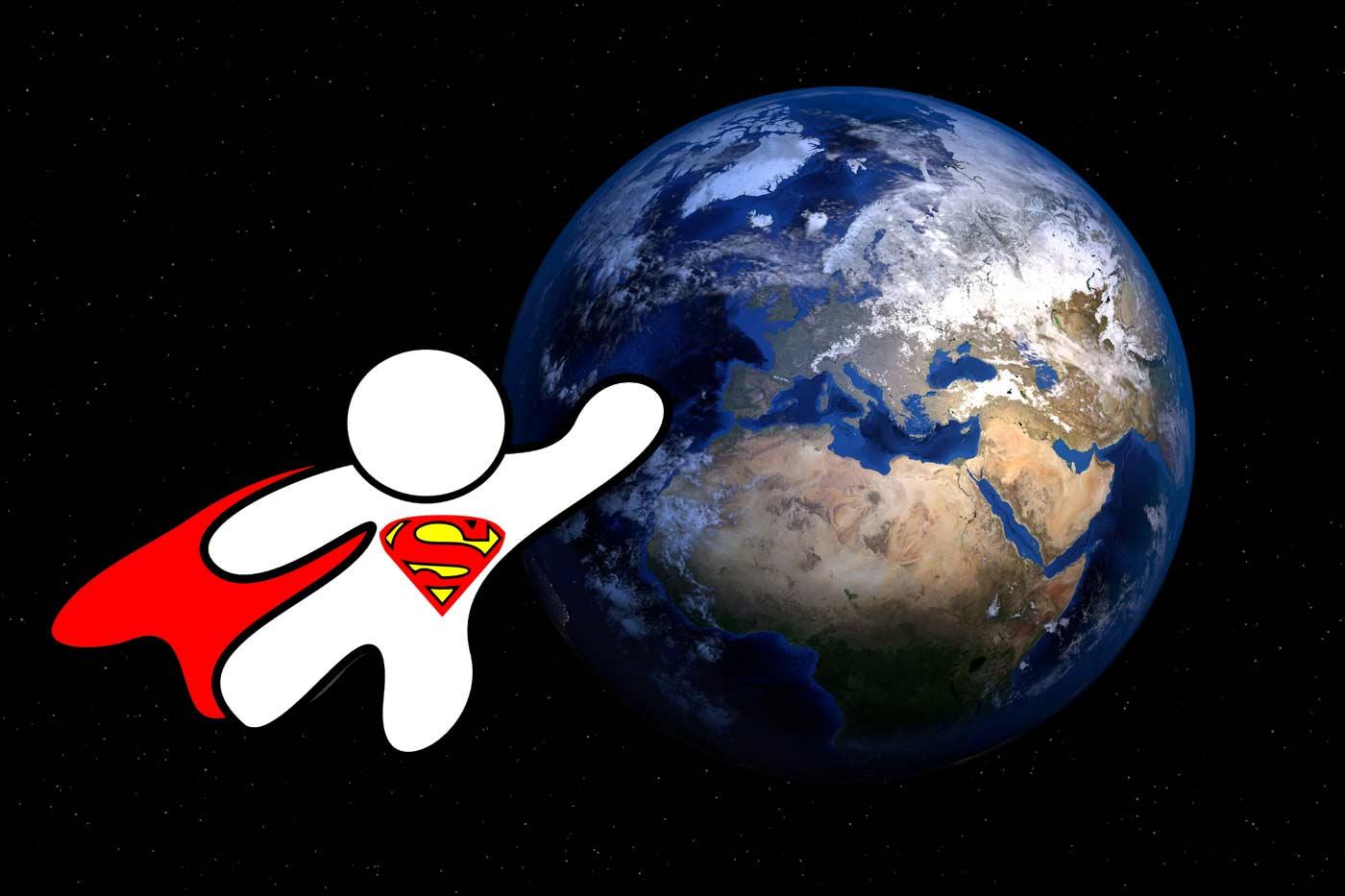 Welt retten