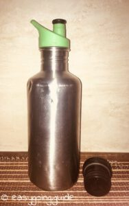 Stainless steel bottle sustainable item