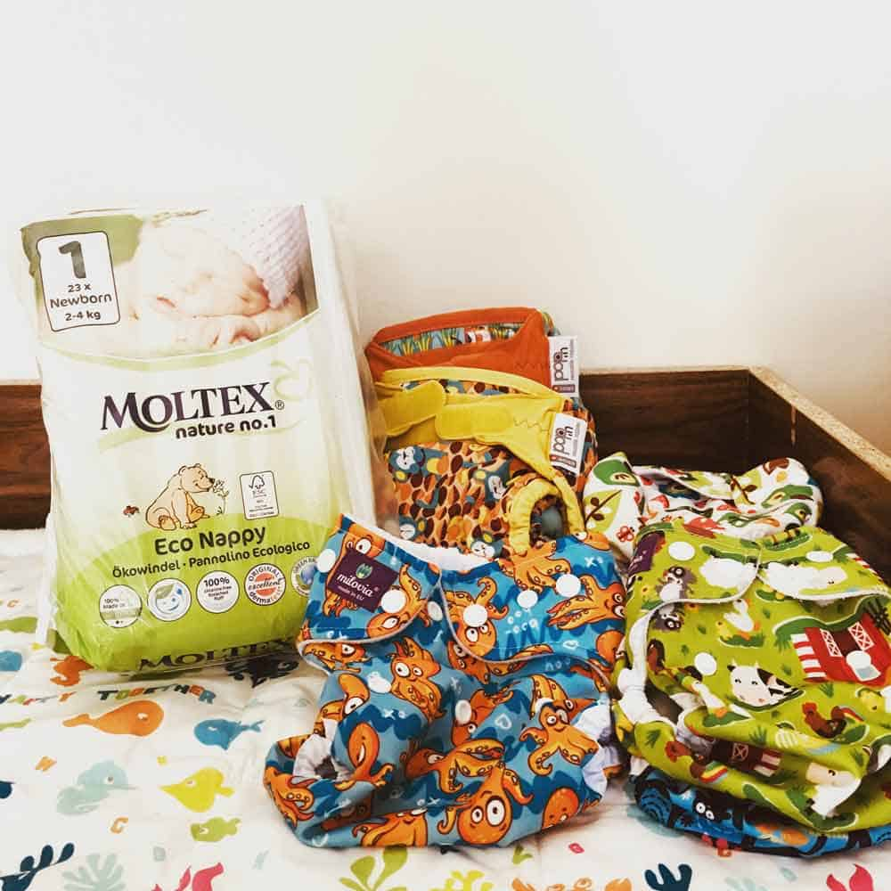 Cloth diapers grow up sustainably