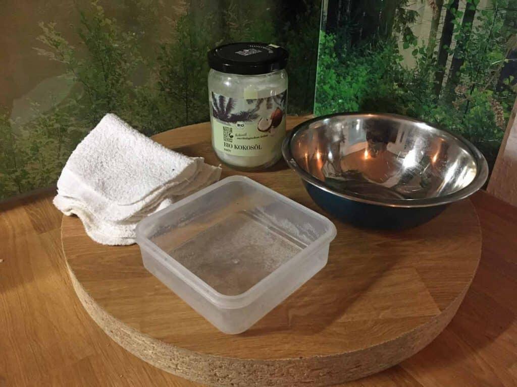 Baby-Feuchttücher diy