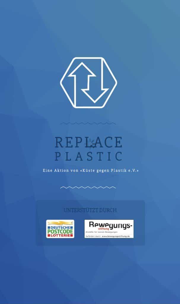 Replace Plastic als nachhaltige App
