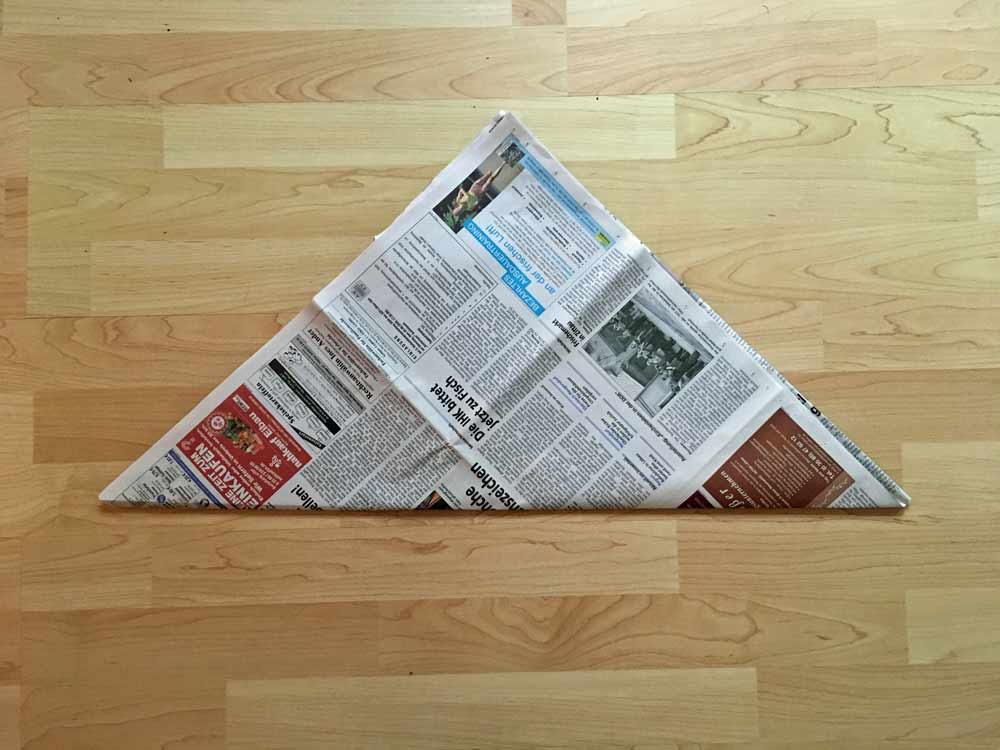fold a triangle