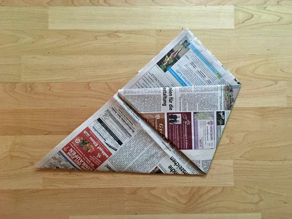 fold first corner
