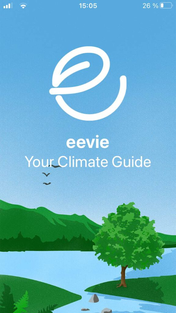 eevie the sustainable app for a greener living