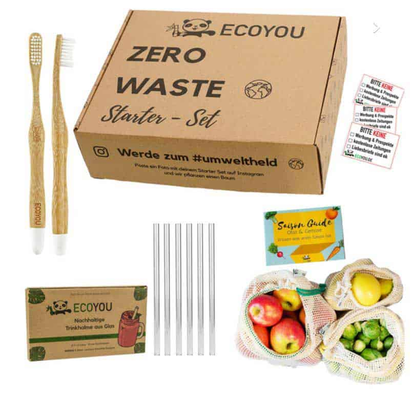 Eco You Zero Waste Starter Kit sustainable gifts
